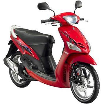 Motor Matic Injeksi Irit Harga Murah Yamaha Mio J Sporty